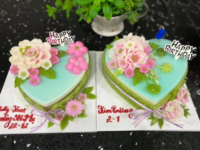 Rau câu sinh nhật Huỳnh Giao
