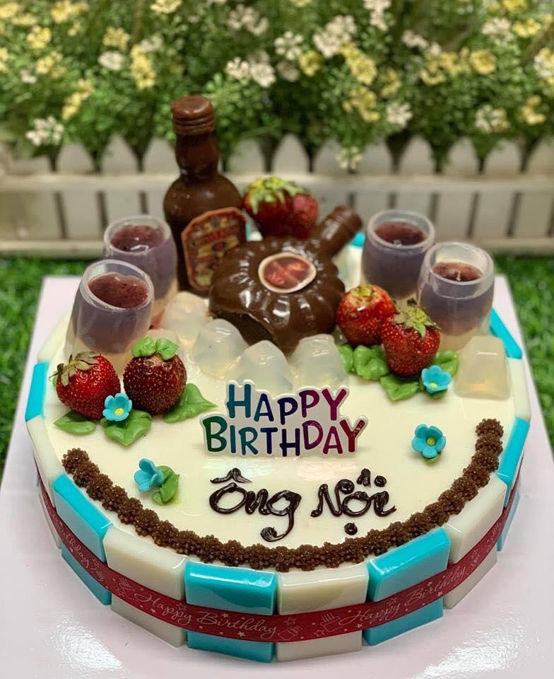 Bánh rau câu sinh nhật Kim My