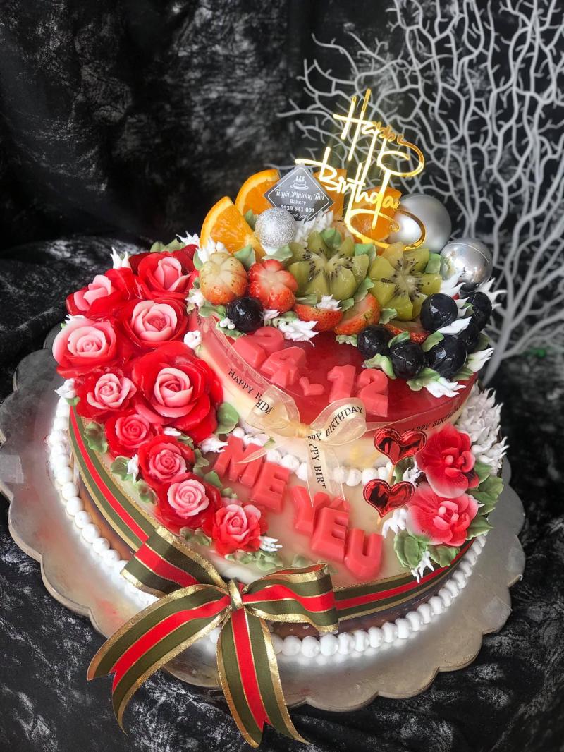 Rau câu sinh nhật Tuyetphuong Tan