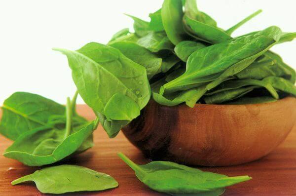 Rau lá xanh chứa hàm lượng calo cực kỳ thấp