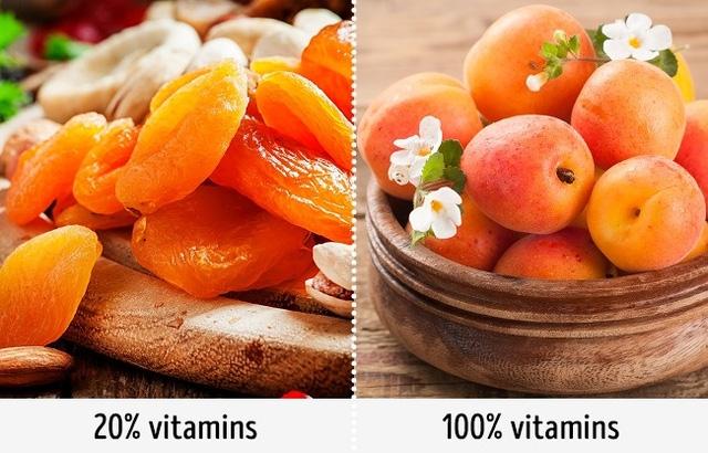 Hoa quả khô không phải là món ăn vặt tốt nhất