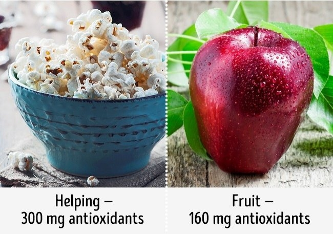Bỏng ngô tốt cho sức khỏe