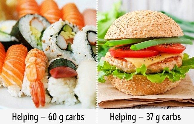 Ăn sushi trong thời gian ăn kiêng