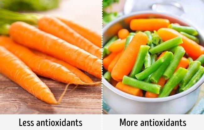 Rau củ quả tươi tốt không tốt cho sức khỏe hơn rau củ đã qua chế biến