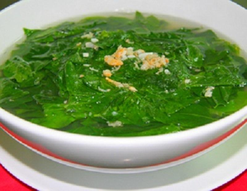 Canh rau ngót tôm thịt - món ăn giải nhiệt cho ngày hè