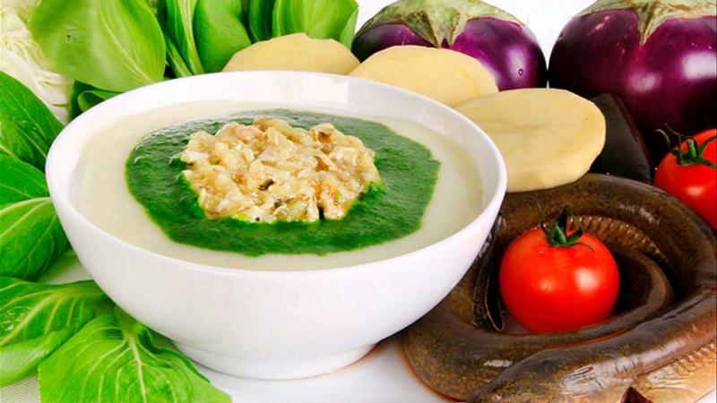 Rau xanh có chứa một lượng lớn Vitamin tự nhiên, chất xơ dồi dào