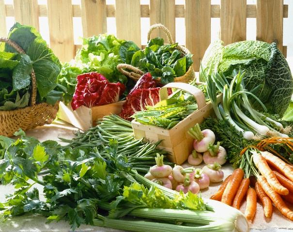 Rau xanh giúp giảm cân nhanh chóng