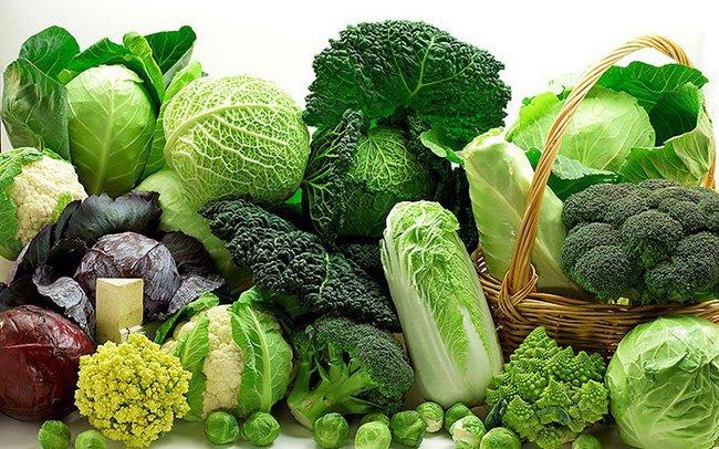 Rau xanh rất nhiều dinh dưỡng