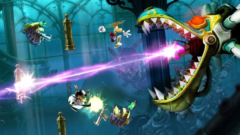 Tựa game vui nhộn, đặc sắc Rayman Legends