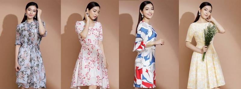 Một số mẫu váy nữ tính của Real Clothes