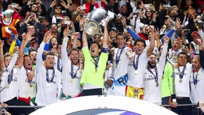 Real Madrid là đội bóng giành được nhiều chiếc cúp C1 nhất