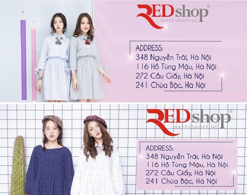 Red Shop - địa chỉ mua quần áo nữ đẹp rẻ tại Hà Nội