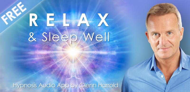Relax & Sleep by Glenn Harrold giúp bạn điều trị chứng mất ngủ hiệu quả (Nguồn: Amazon.com)