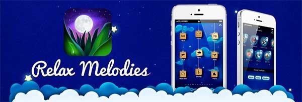 Ứng dụng Relax Melodies được cài đặt miễn phí trên CH Play (Nguồn: ReXdl.com)