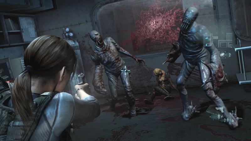 Hình ảnh trong Game Resident Evil