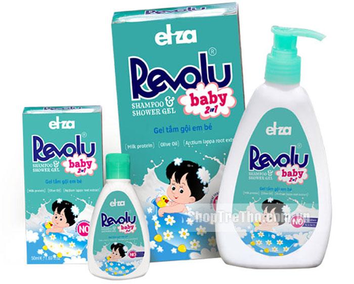 Sữa tắm Revolu an toàn cho mọi loại da, rất phù hợp cho trẻ sơ sinh.