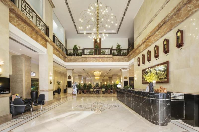 Quầy check in của khách sạn