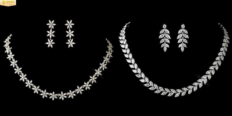 Trang sức bạc mạ Rhodium