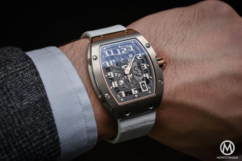 Đồng hồ Richard Mille sử dụng công nghệ cao cấp