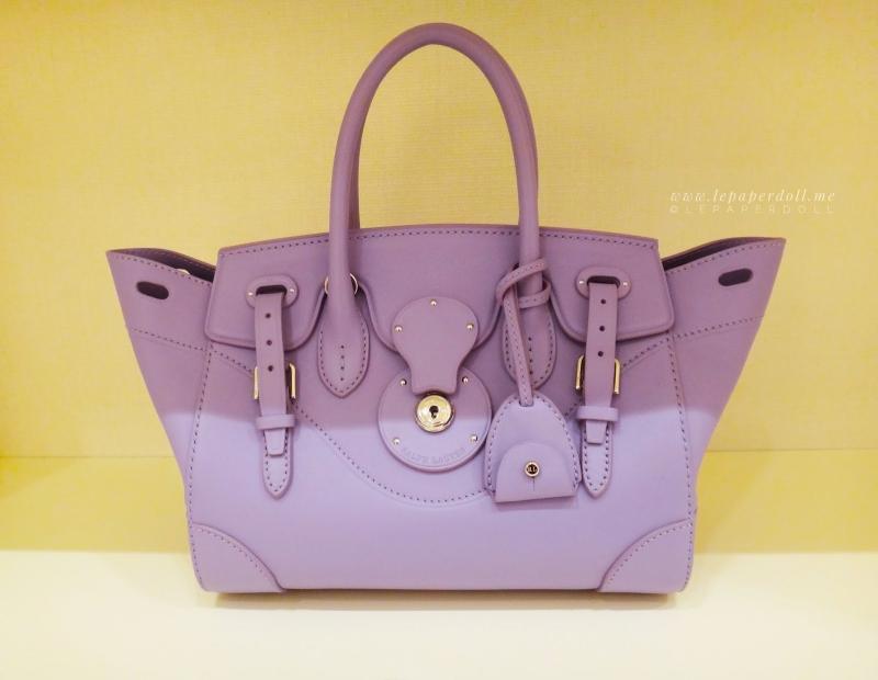 Chiếc túi Ricky Bag của nhà thiết kế Ralph Lauren