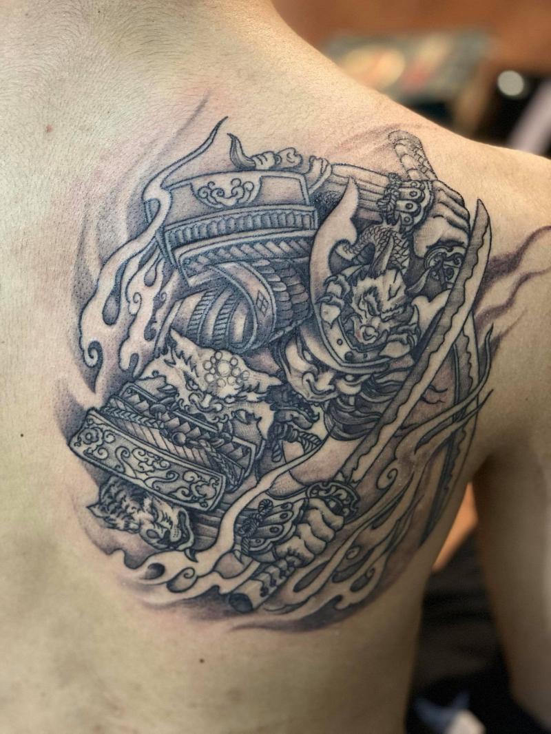 RiderRock Tattoo