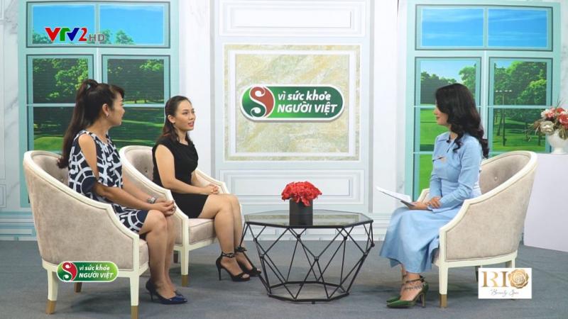 Chuyên gia Thẩm Mỹ Rio Phạm Thanh Tâm chia sẻ dịch vụ phun thêu, điêu khắc với Đài Truyền Hình VTV2