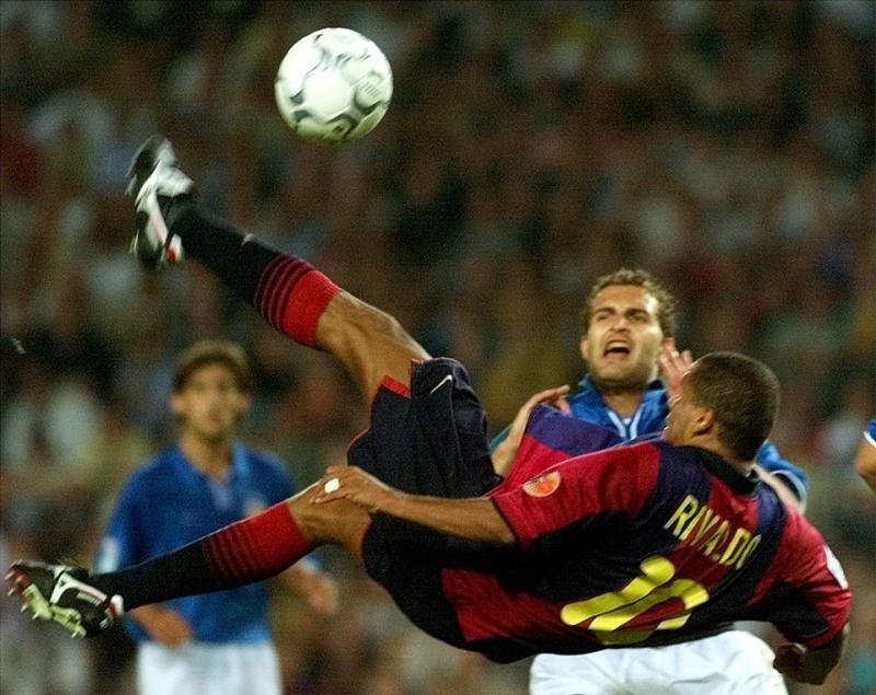 Rivaldo rất kỹ thuật