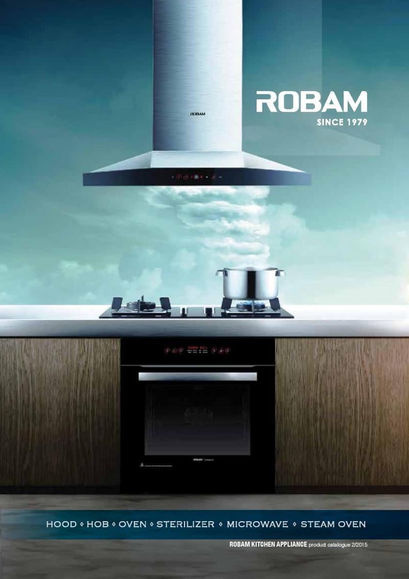 Máy hút mùi gia đình là sản phẩm thiết bị nhà bếp nổi tiếng nhất của Robam.