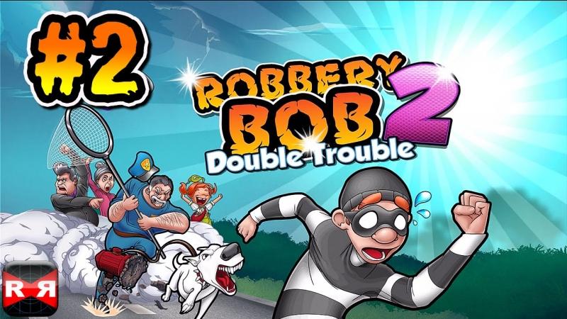 Tựa game giải trí hài hước Robbery Bob 2
