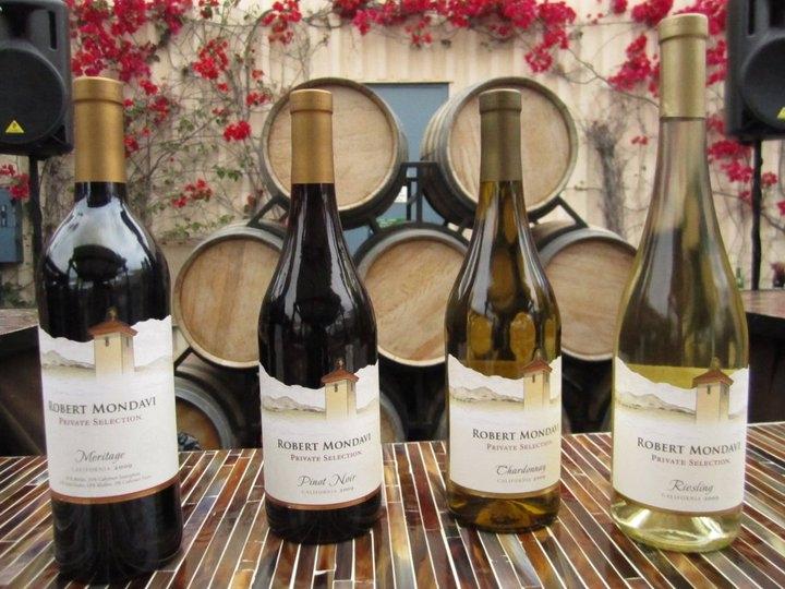 Robert Mondavi loại rượu cao cấp của Mỹ