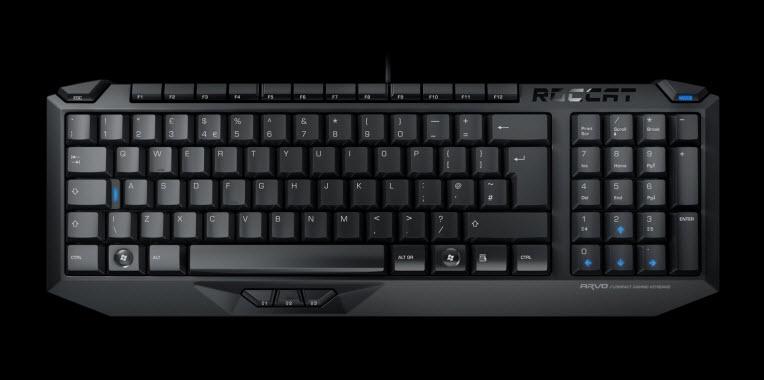 Hãng Roccat đã sản xuất ra dòng sản phẩm chuyên cho game thủ với phím bấm riêng biệt.