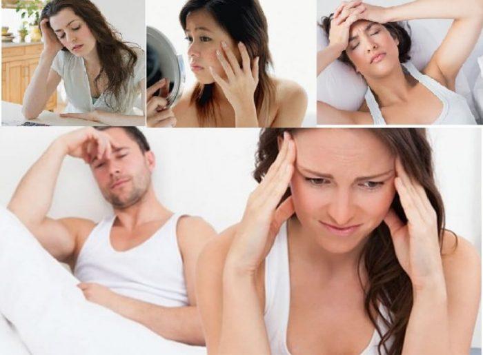Rối loạn nội tiết tố, suy nhược cơ thể