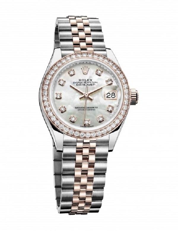 Dòng Datejust của thương hiệu đồng hồ nổi tiếng Rolex