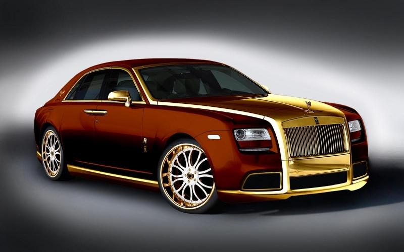 Xe Roll-Royce Ghost Fenice Milano có giá 3 triệu USD