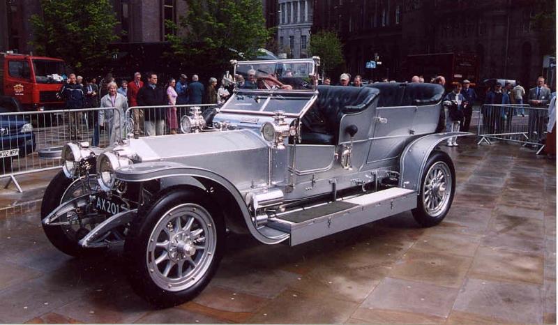 Xe Roll Royce Silver Ghost có giá 3,2 triệu USD