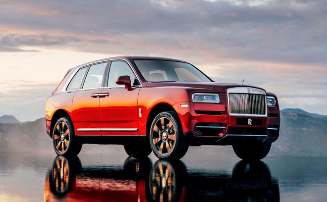 Rolls-Royce Cullinan – Giá: 41 tỷ VND