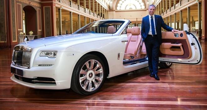 Rolls-Royce Dawn 2016 là dòng xe cỡ nhỏ do Rolls-Royce cung cấp mang tên Dawn