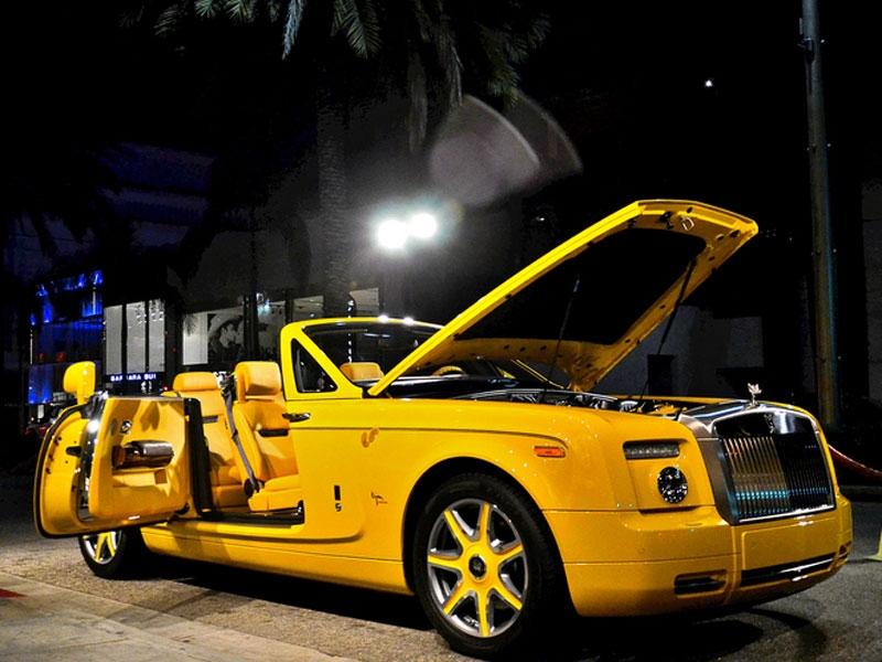 Xe Rolls Royce Drophead coupe Bijan Pakzad có giá 1 triệu USD
