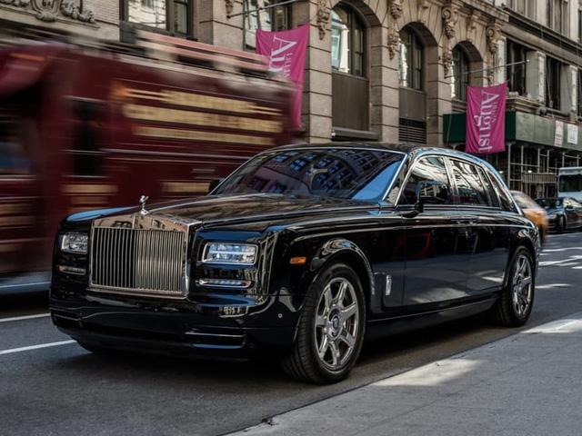 Rolls-Royce Phantom của ông Donald Trump