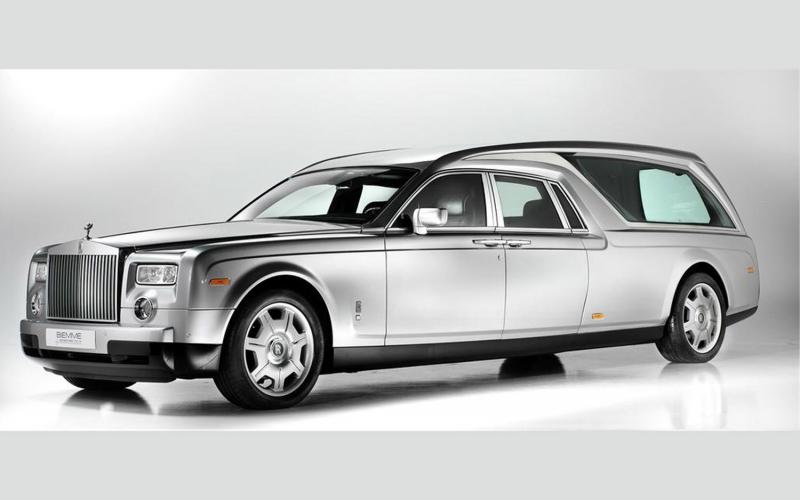Xe Rolls Royce Phantom Hearse B12 có giá 662 nghìn USD