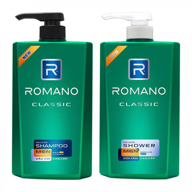 Nhãn hiệu dầu gội Romano