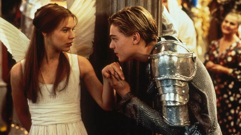 Romeo và Juliet trong bộ phim phiên bản 1996