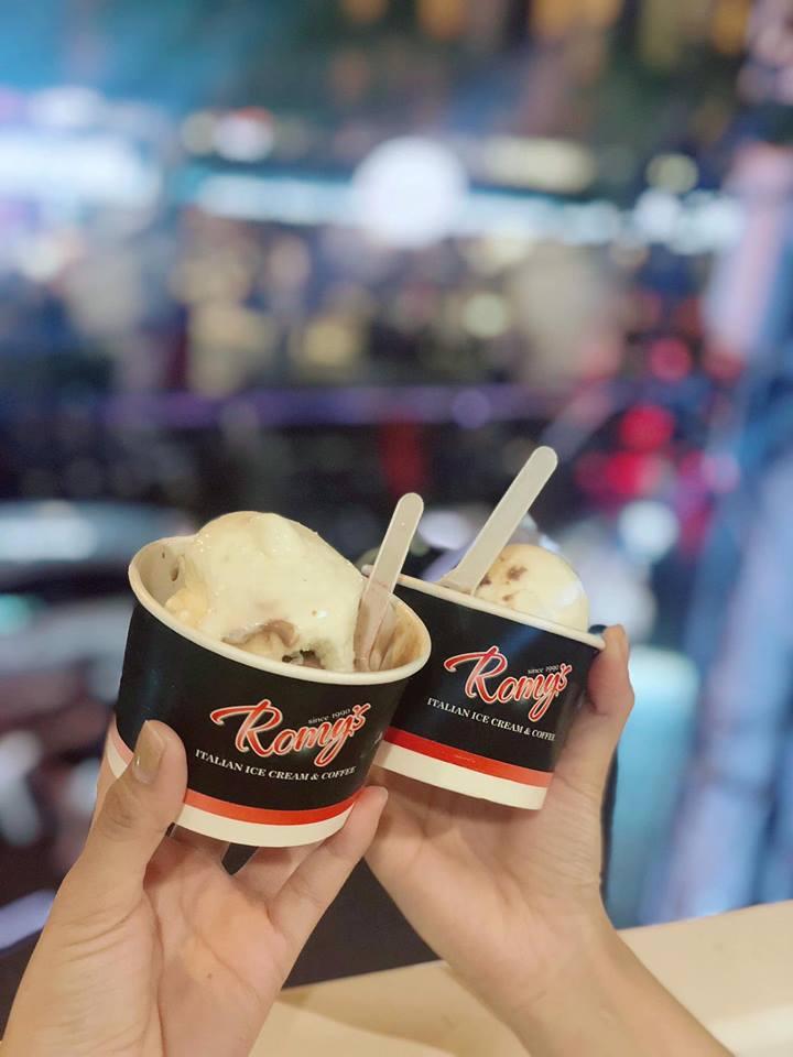 Ly kem hấp dẫn tại quán