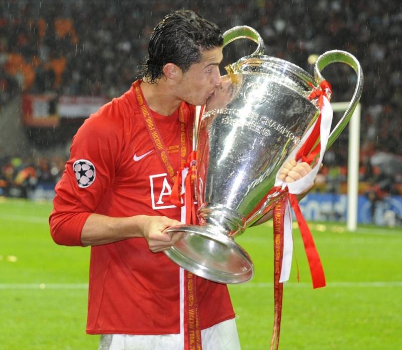 Ronaldo vô địch C1 với MU