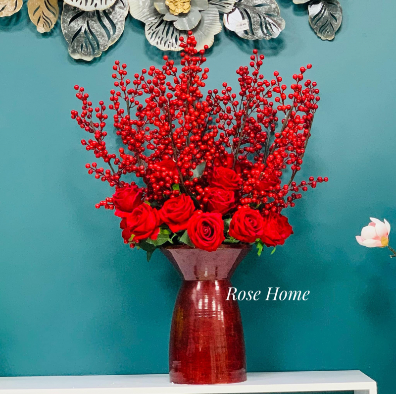 Rose Home Decoration - Art flower
