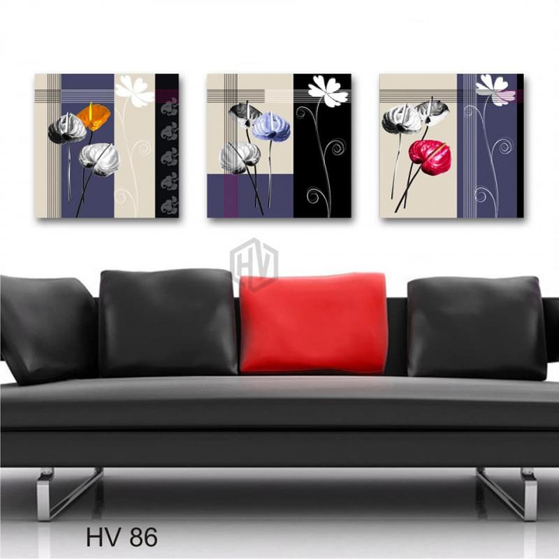 Rose House - Tranh Treo Tường Canvas Bình Phước