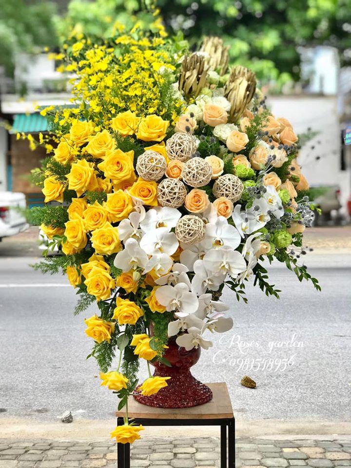 Hoa nhà Roses garden - rực rỡ và sang trọng