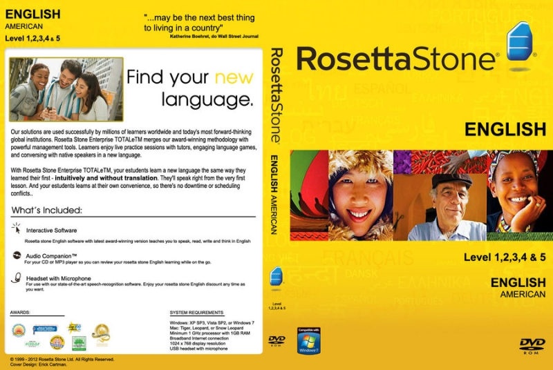 Roseta Stone đang ngày càng được nhiều bạn trẻ trong và ngoài nước yêu thích, sử dụng