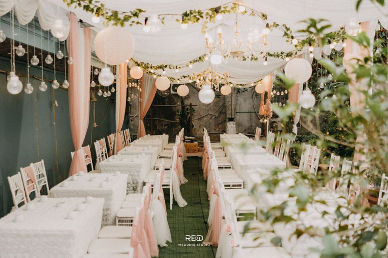 Rosy Wedding Decoration