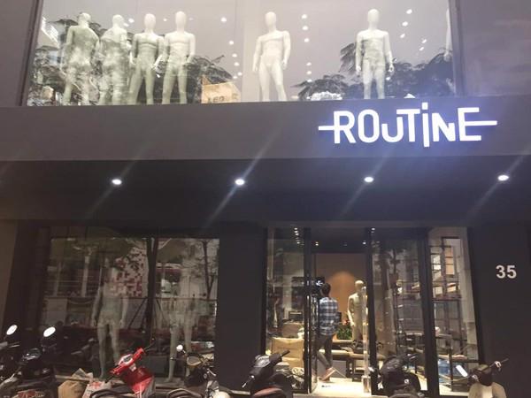 Routine shop